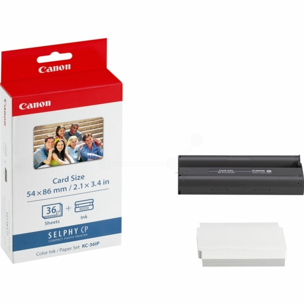 Canon Inking Kit +InkJet-Papier Credit Card KC-36 IP 7739A00