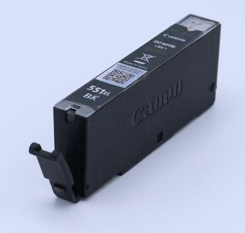 Ankauf original Canon CLI551 BK XL photoschwarz leergedruckt