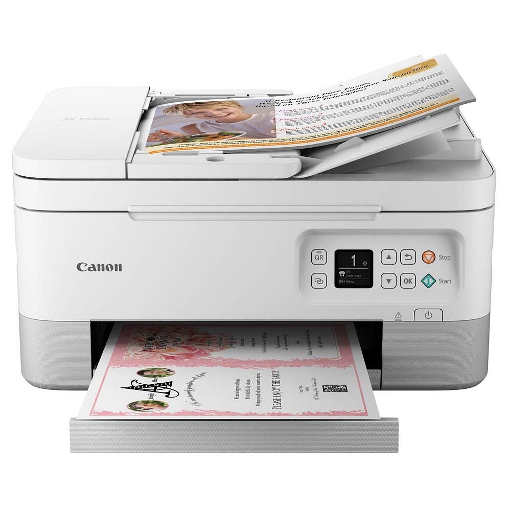 Canon PIXMA TS7451 3 in 1 Farb-Tintenstrahldrucker, weiß