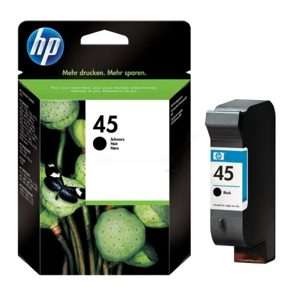 HP 45 Tinte schwarz 42 ml