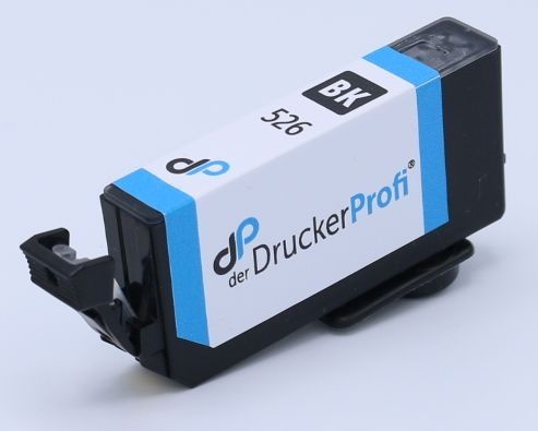 Kompatibel zu Canon CLI-526 BK Tinte schwarz 9 ml