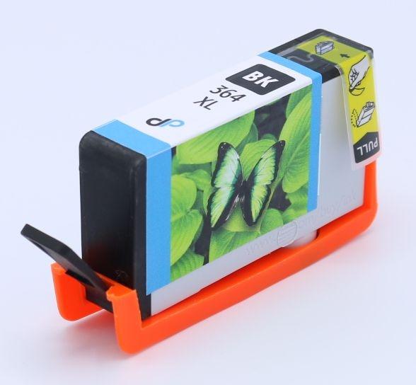 Kompatibel zu HP 364XL Tinte schwarz 18 ml