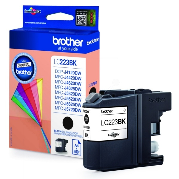 Brother LC223BK Tinte schwarz 11,8 ml