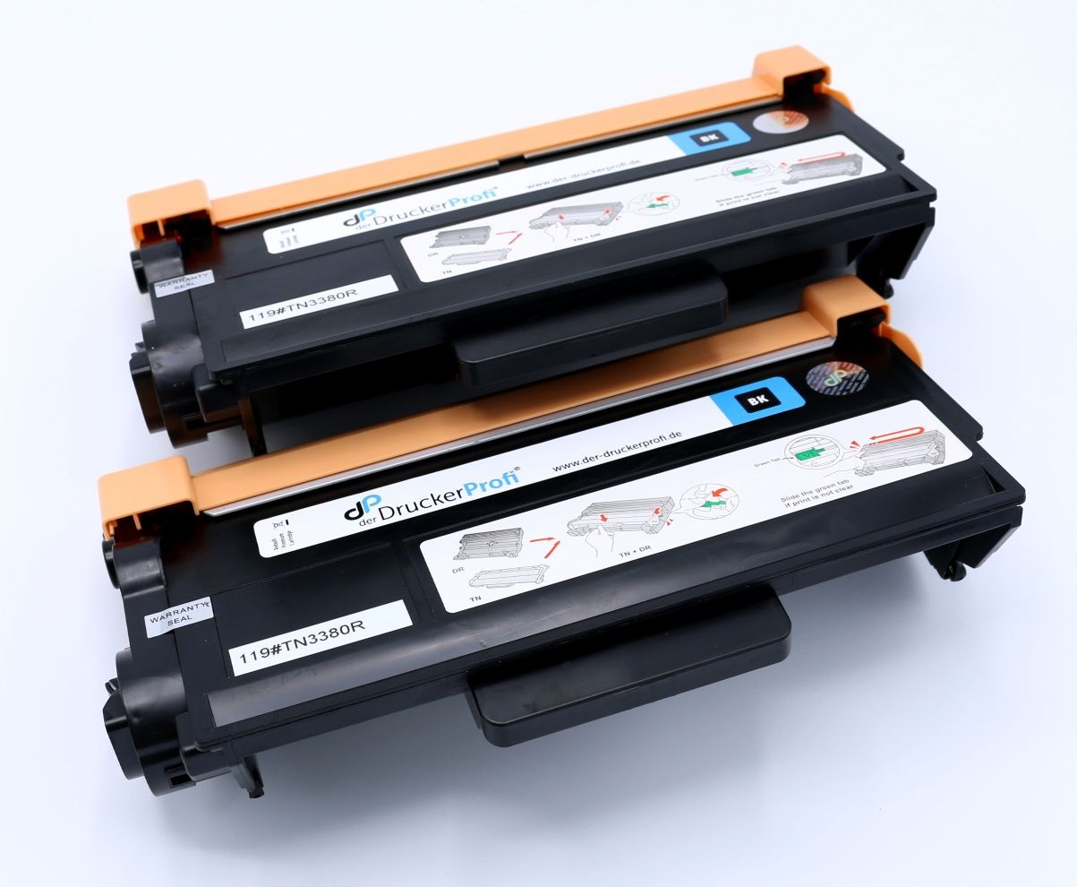 Kompatibel zu Brother TN3380TWIN Toner schwarz