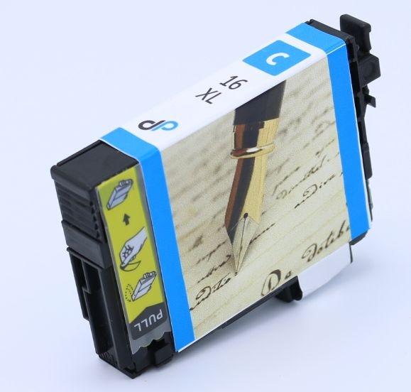 Kompatibel zu Epson 16XL Tinte cyan 6,5 ml / Füller