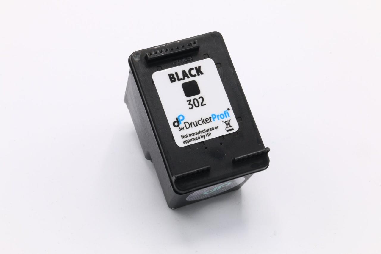 Kompatibel zu HP 302 Tinte schwarz 3,5 ml