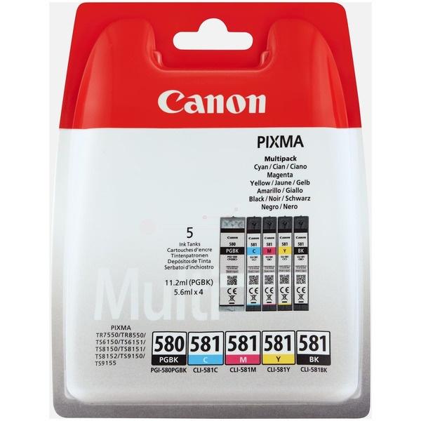 Canon PGI-580 CLI 581 CMYK MultiPack Tinte