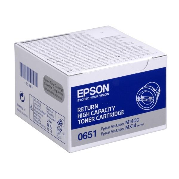 Epson 0651 Toner schwarz