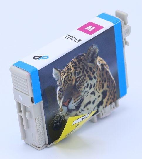 Kompatibel zu Epson T0713 Tinte magenta 5,5 ml / Gepard