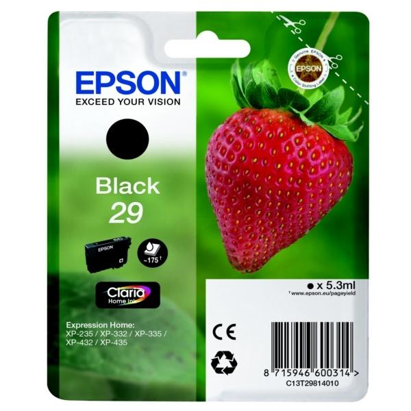 Epson 29 Tinte schwarz 5,3 ml