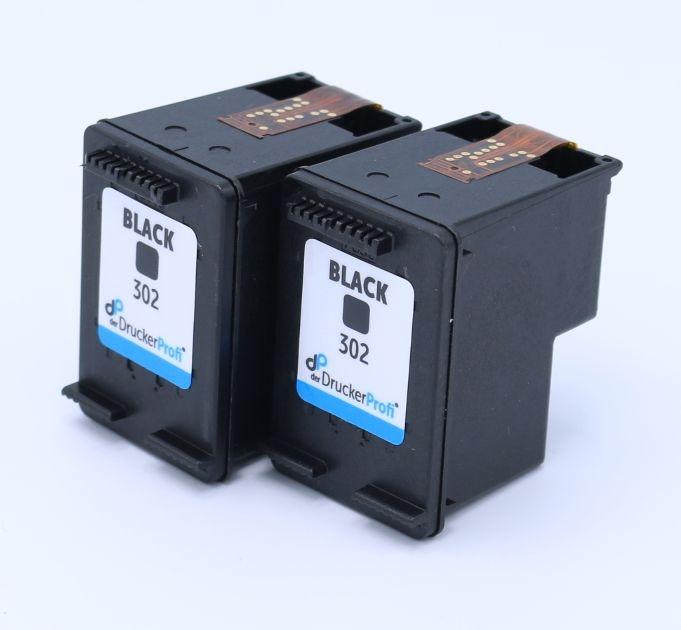 DDP Druckkopfpatrone schwarz Doppelpack ersetzt HP 302