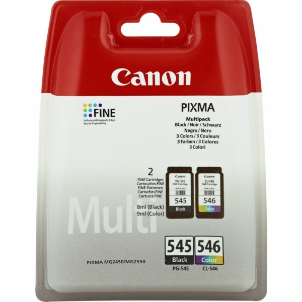 Canon PG-545 CL 546 MultiPack Tinte