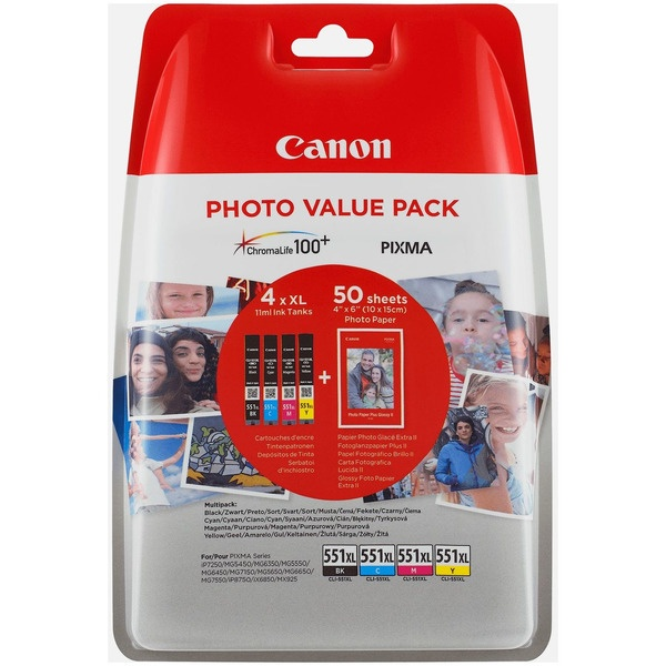 Canon CLI-551 XL MultiPack Tinte