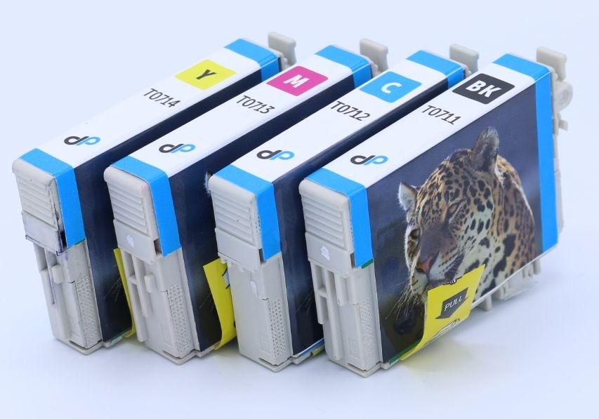 Kompatibel zu Epson T0715 MultiPack Tinte / Gepard