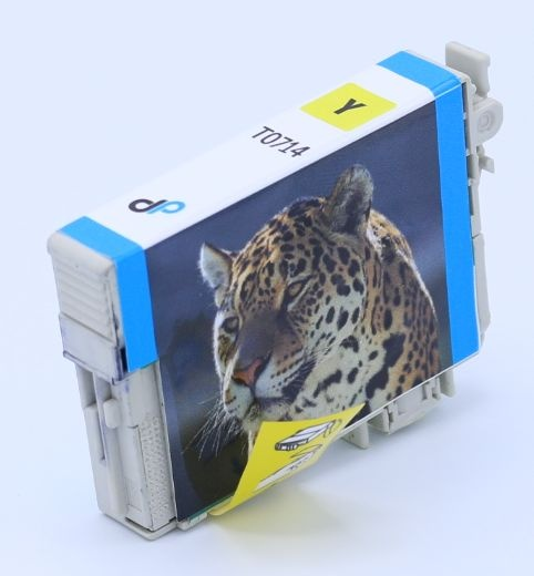 Kompatibel zu Epson T0714 Tinte gelb 5,5 ml / Gepard