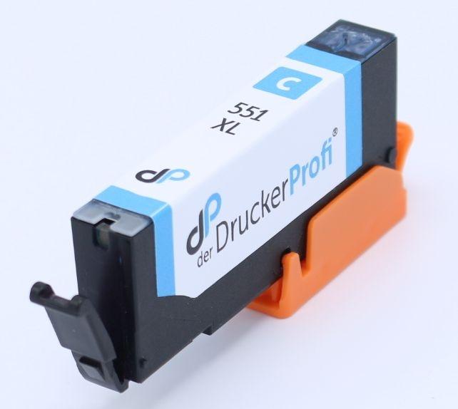 DDP Tintenpatrone cyan ersetzt CLI-551 C XL