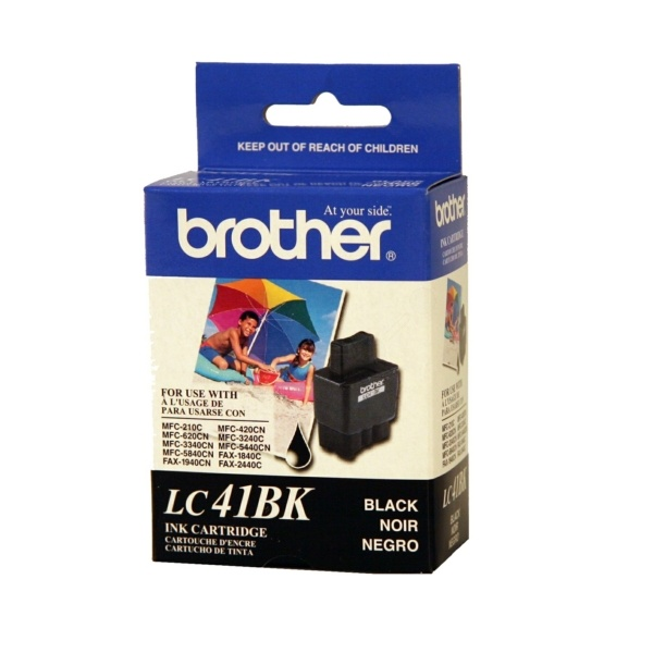 Brother LC41BK Tinte schwarz