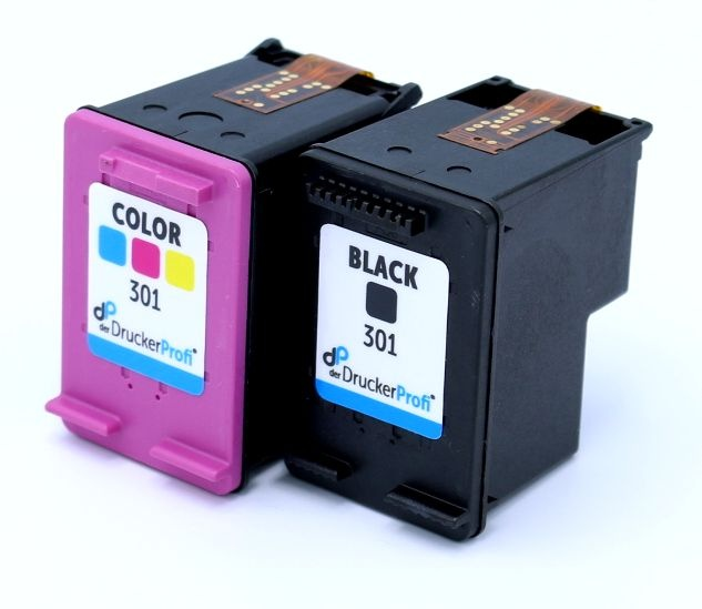 Kompatibel zu HP 301 MultiPack Tinte schwarz + color