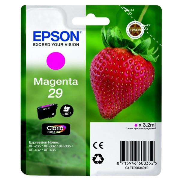 Epson 29 Tinte magenta 3,2 ml