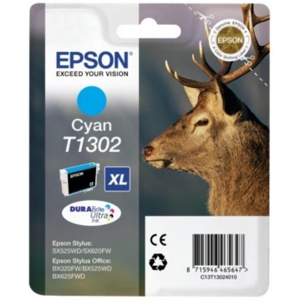 Epson T1302 Tinte cyan 10,1 ml