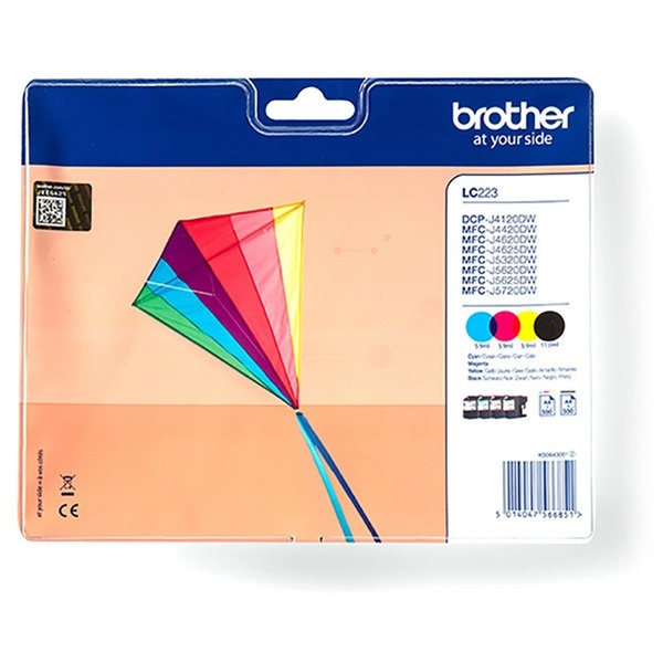 Brother LC223VAL MultiPack Tinte