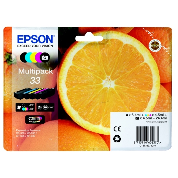 Epson 33 MultiPack Tinte