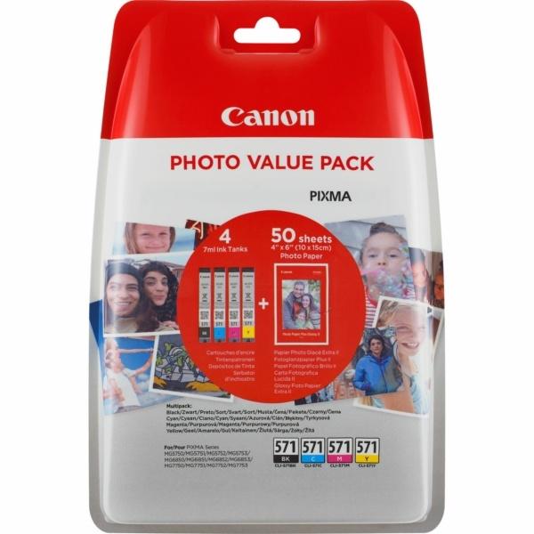 Canon CLI-571 MultiPack Tinte 7 ml