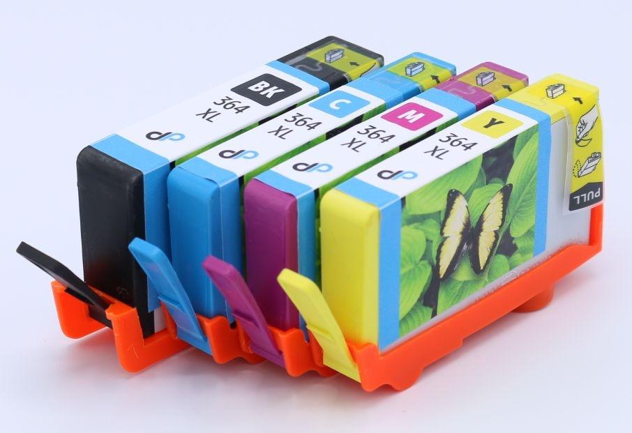DDP Tintenpatrone Multipack Bk,C,M,Y ersetzt HP 364 XL
