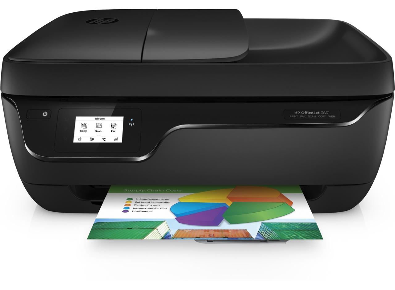 HP OfficeJet 3831 All-in-One Multifunktionsdrucker