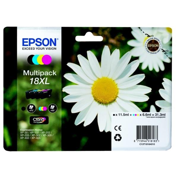 Epson 18XL MultiPack Tinte
