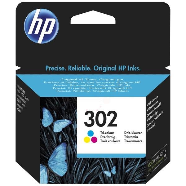 HP 302 Tinte color 4 ml