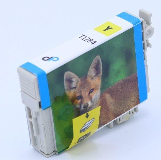 Kompatibel zu Epson T1284 Tinte gelb 3,5 ml / Fuchs