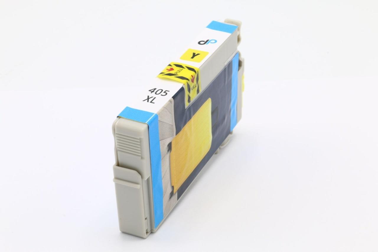 Kompatibel zu Epson 405 XL Tinte gelb 14,7 ml