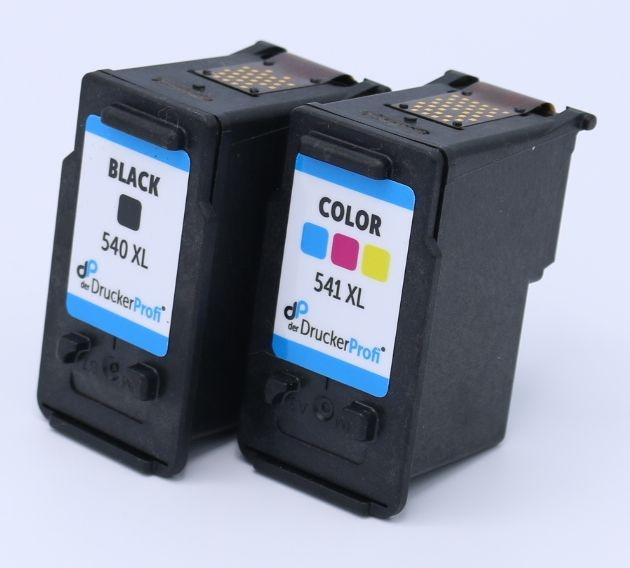 Kompatibel zu Canon 540XL/541XL MultiPack Tinte