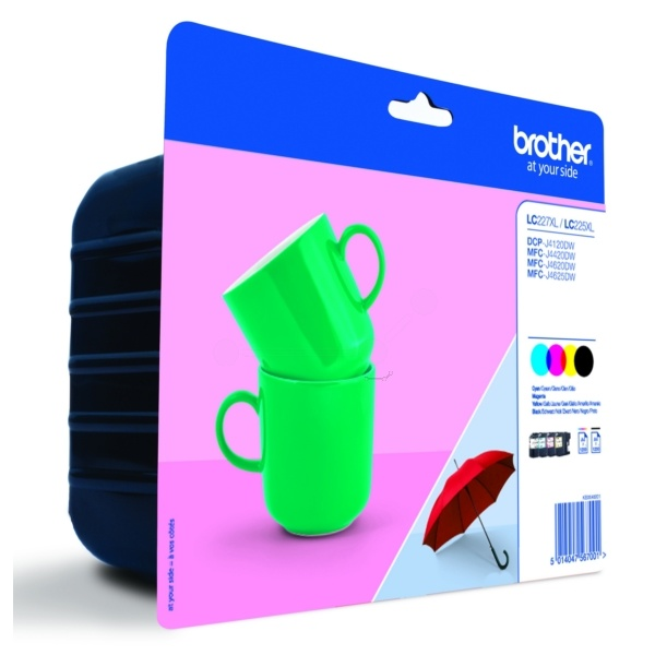 Brother LC227XLVALBP MultiPack Tinte