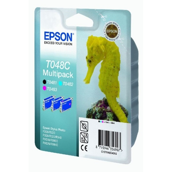 Epson T048C Tinte 13 ml