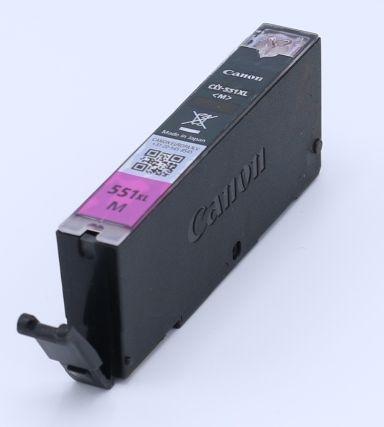 Ankauf original Canon CLI551 M XL magenta leergedruckt