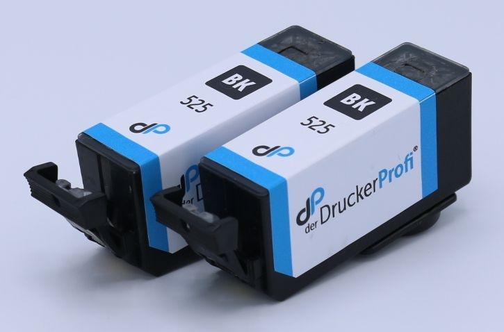 Kompatibel zu Canon PGI-525 PGBK Doppelpack Tinte schwarz