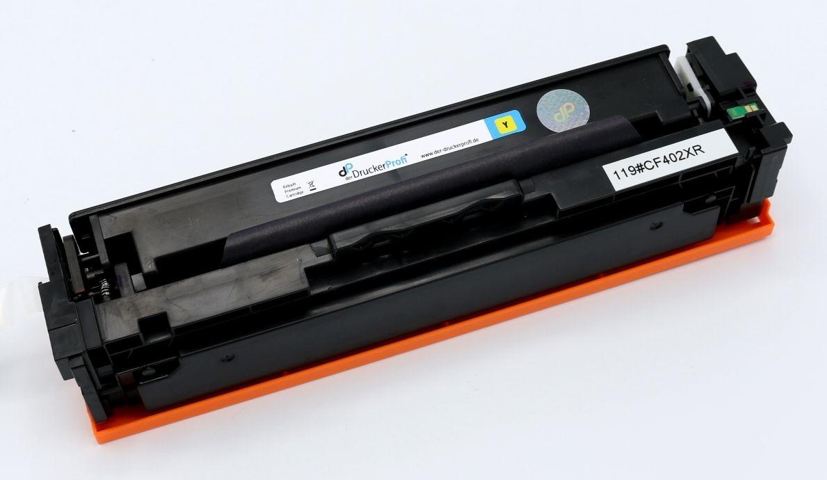 Kompatibel zu HP 201X Toner gelb