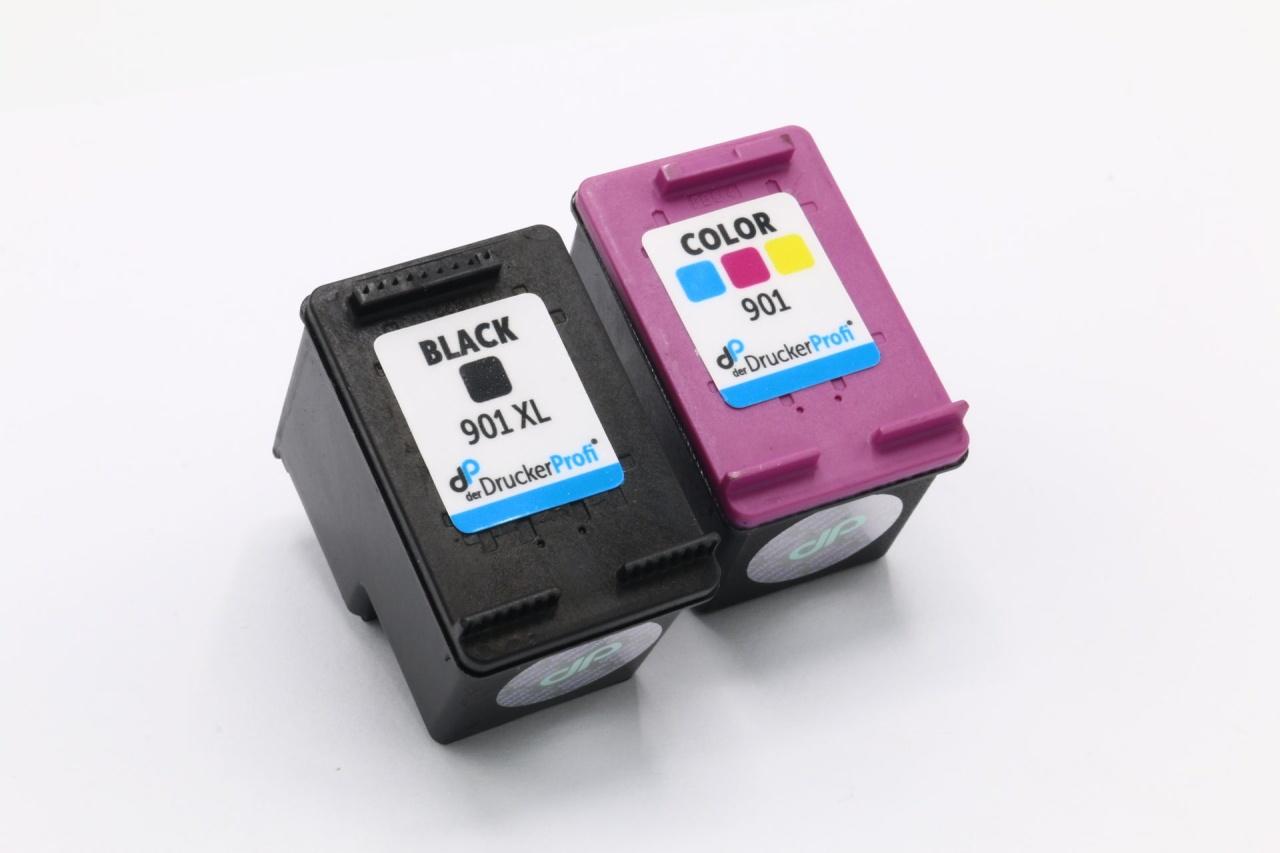 Kompatibel zu HP 901XL+901 MultiPack Tinte