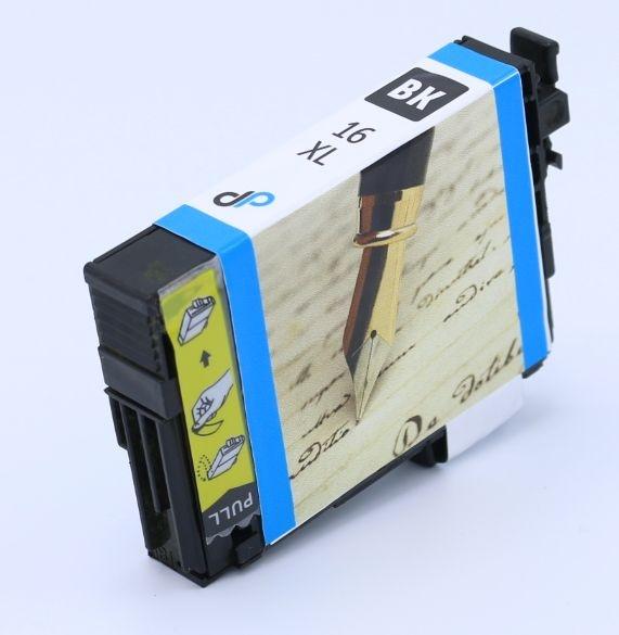Kompatibel zu Epson 16XL Tinte schwarz 12,9 ml / Füller