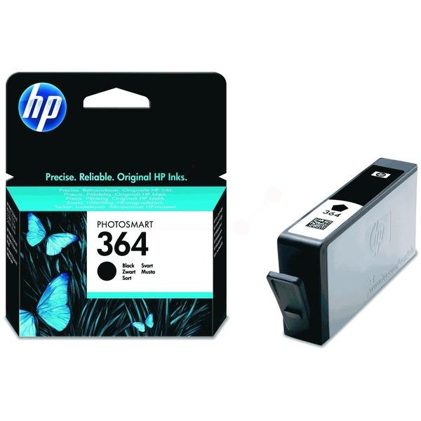 HP 364 Tinte schwarz 6 ml
