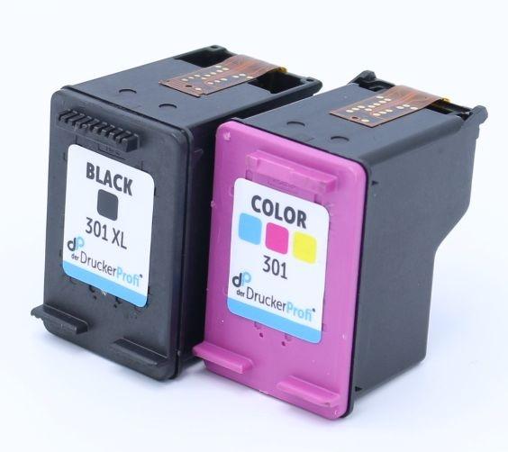 DDP Druckkopfpatrone Multipack schwarzXL+color ersetzt HP301