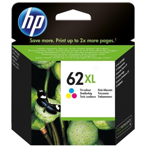 HP 62XL Tinte color
