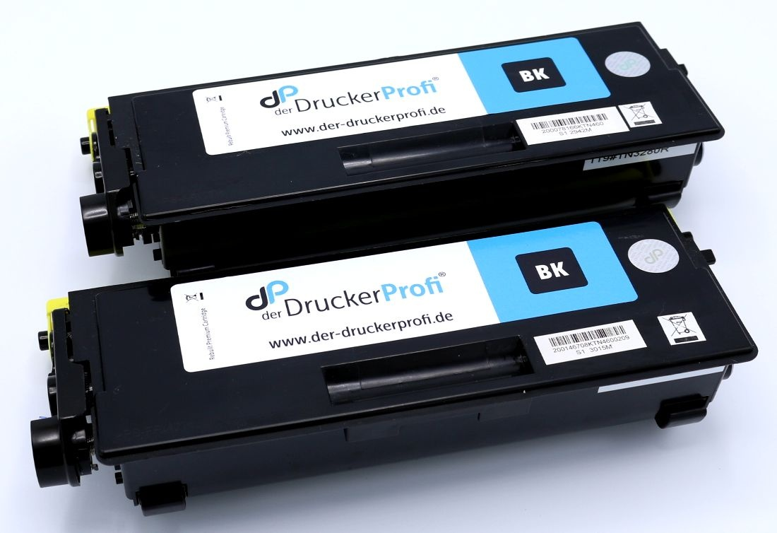 Kompatibel zu Brother TN3280TWIN Toner schwarz