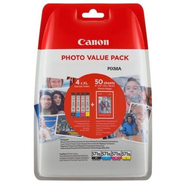Canon CLI-571 XL MultiPack Tinte 11 ml