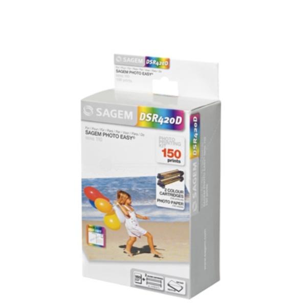 Sagem Foto-Kit Fotopapier +Folie 251559434 DSR400T