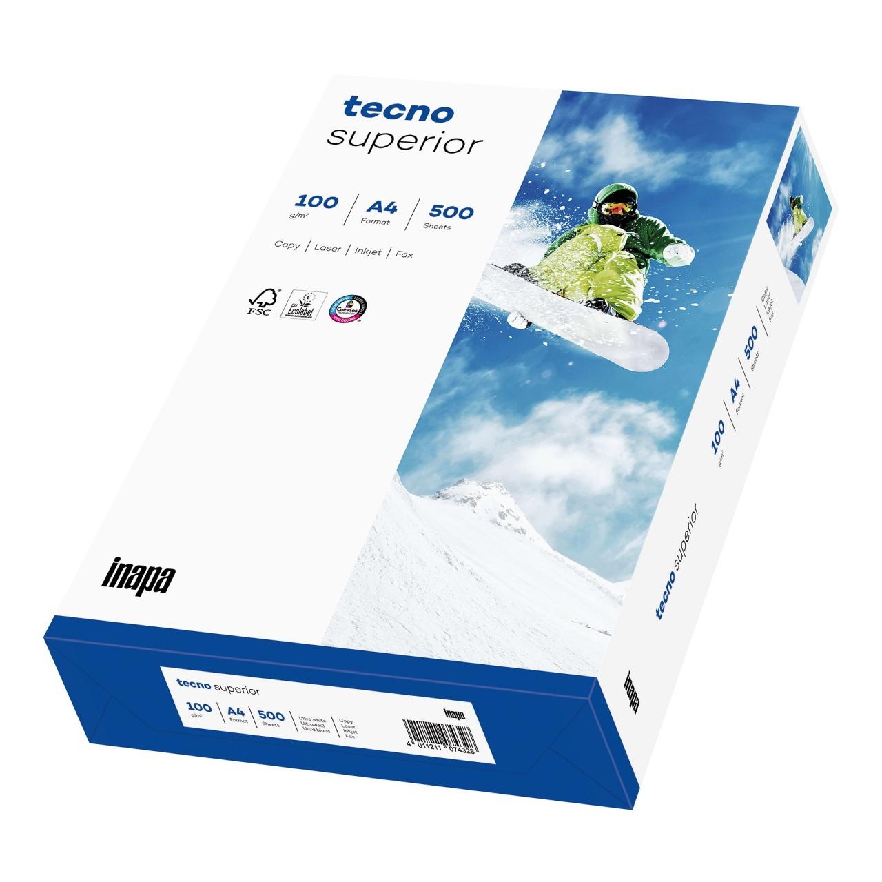 Plano Superior FSC Druckerpapier 100 g/m², DIN A4