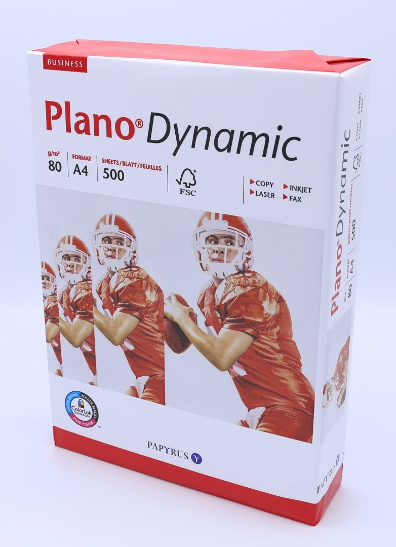Plano Dynamic FSC Druckerpapier 80 g/m², DINA4 holzfrei weiß
