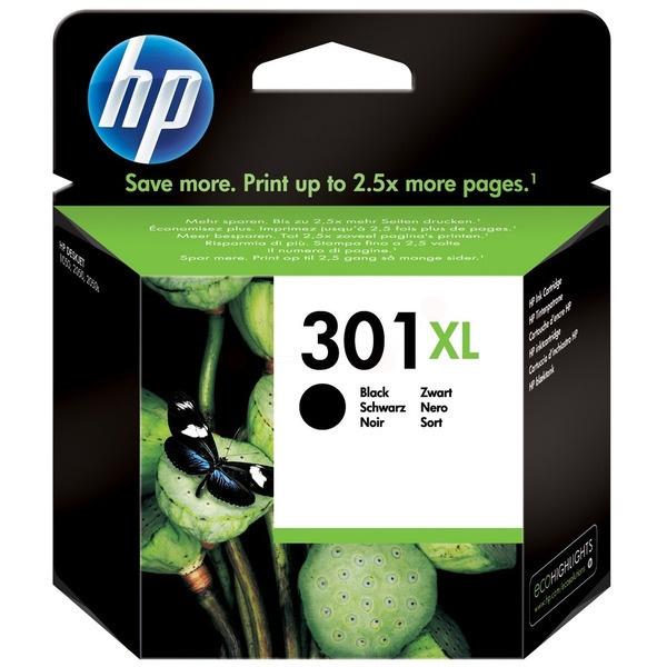HP 301XL Tinte schwarz 8 ml
